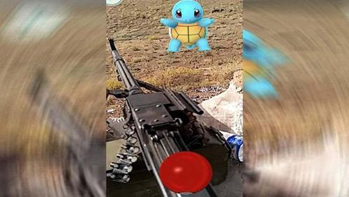 抓精灵闯军事基地 这款手机游戏到底有什么魔力?
