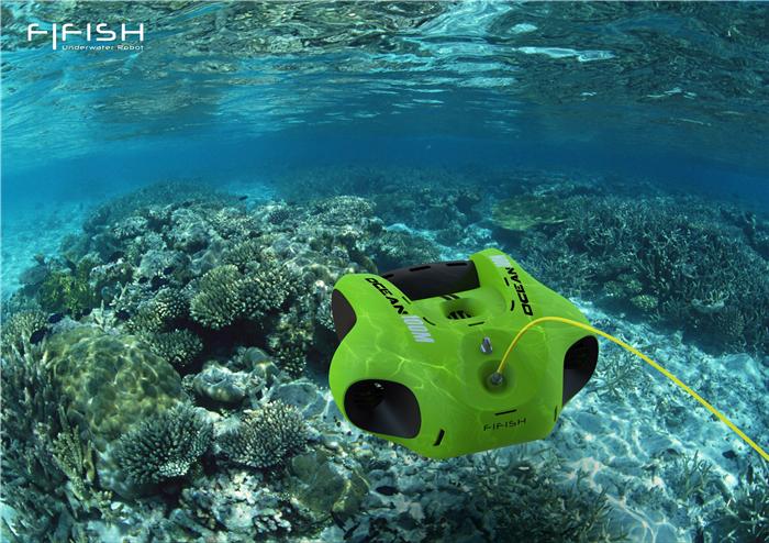 """""""FiFish飞行鱼""""引领水下无人机消费级市场潮流,开启个人探索海洋时代"""