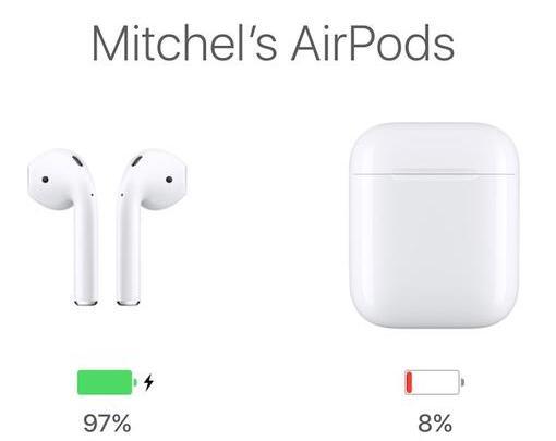 AirPods的收纳盒遇电量问题,1小时掉电40%