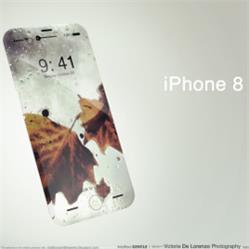 被猪队友曝光的iPhone8新功能:无线快充、双击唤醒和双玻璃设计