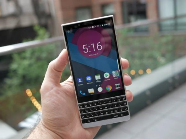 黑莓手机发布新品KEY2,情怀丰满现实却很骨感