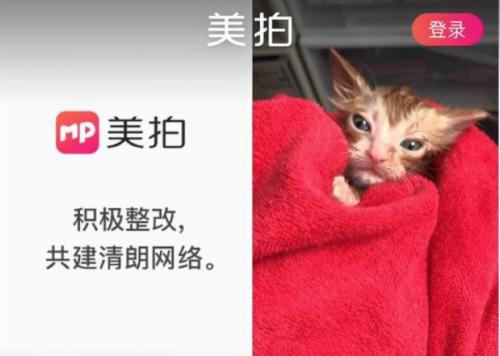 """国家网信办等三部门约谈""""美拍"""",CEO吴欣鸿发致歉信"""