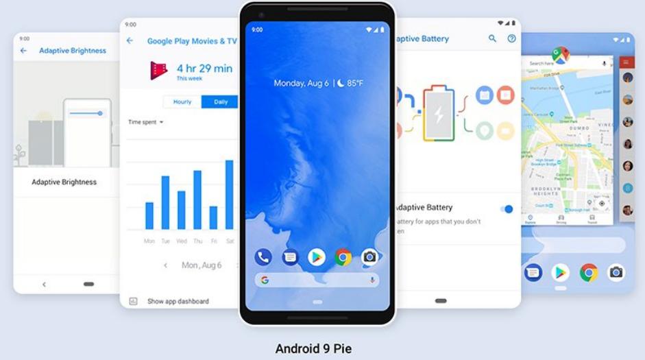 谷歌正式发布 Android 9,代号为 Pie,带来手势操控和AI电池管理