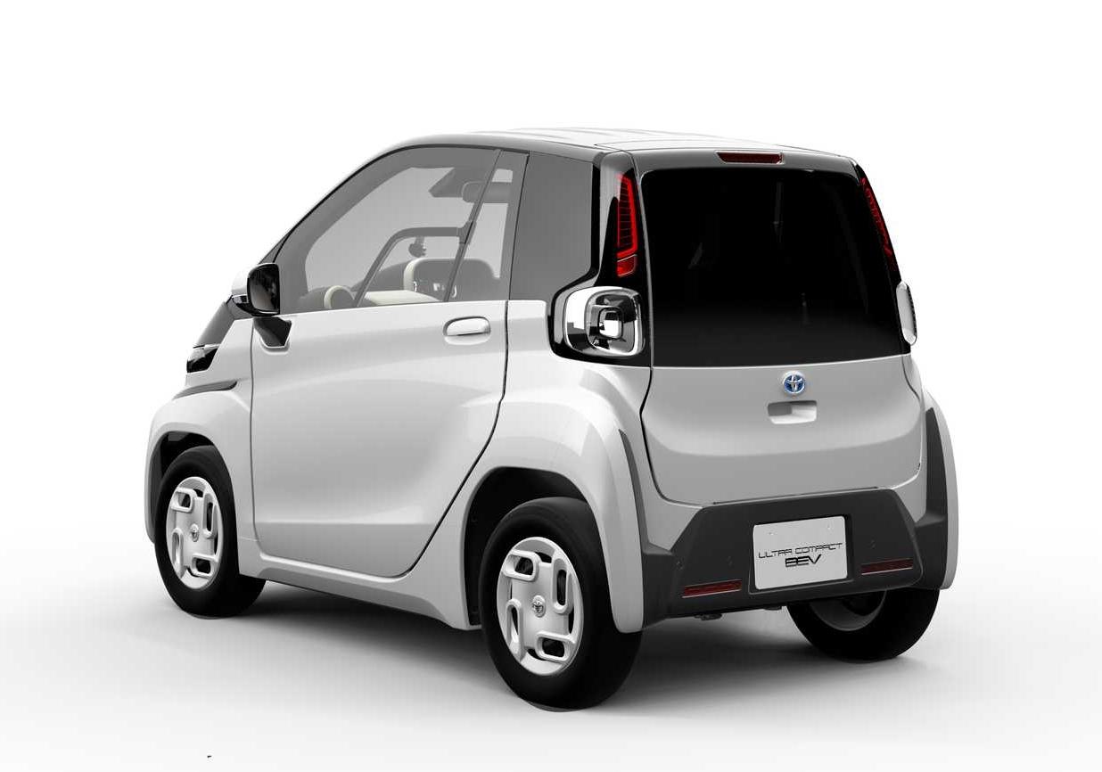 丰田或将推出全新微型纯电动代步车:电池可拆卸