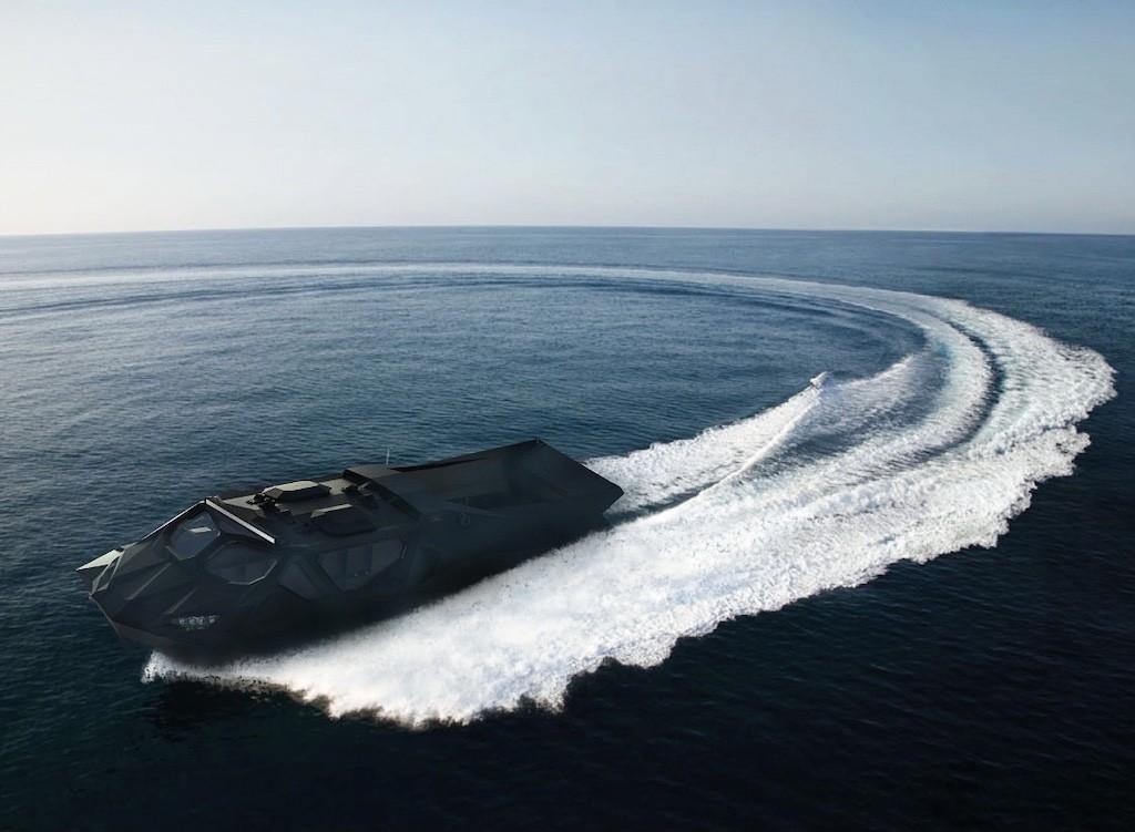 """智能汽车 乌克兰公司打造出混动装甲MPV""""风暴""""并将很快推出潜水版"""