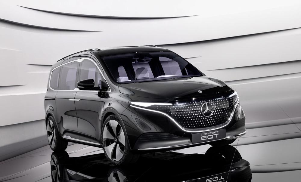 奔驰、雷诺、日产、三菱联合打造EQT概念车 定位纯电动家用MPV